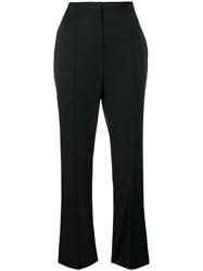 Lanvin High Waisted Trousers Black