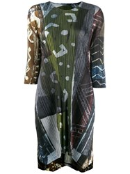 Issey Miyake Pleats Please By Green