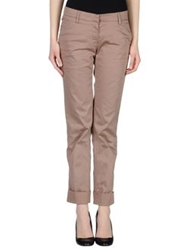 P.A.R.O.S.H. Casual Pants Light Brown