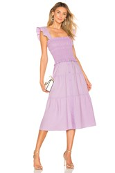 Amanda Uprichard Fillmore Dress Lavender
