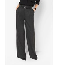 Flannel Pleated Trousers Derby