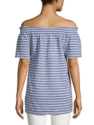 Beach Lunch Lounge Smocked Off The Shoulder Top Sand