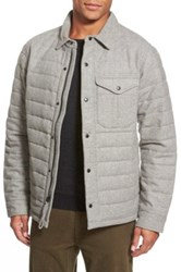Relwen Quilted Field Jacket Gray