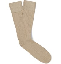 Corgi Ribbed Cotton Blend Socks Unknown