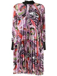 Romance Was Born Paisley Print Pleated Dress 60