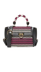 Salvatore Ferragamo Sofia Mini Satchel Multi Rose