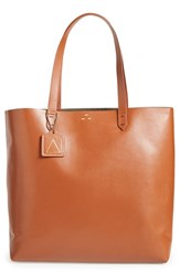 Kelsi Dagger Brooklyn 'Commuter' Leather Tote Brown Tobacco