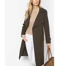 Belted Trench Coat Olive