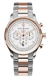 Jack Mason Brand Men's Nautical Chronograph Bracelet Watch 42Mm