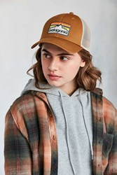 Patagonia P 6 Logo Trucker Hat Brown
