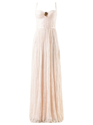 Emannuelle Junqueira Bustier Maxi Dress White
