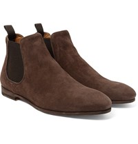 Officine Creative Revien Suede Chelsea Boots Brown