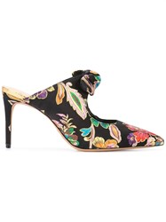 Alexandre Birman Evelyn Mules Black