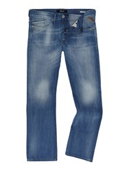 Replay Waitcom Regular Slim Jeans Denim Light Wash