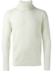 Nuur Turtle Neck Sweater White