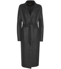 Loro Piana Wilbur Cashmere Coat Grey