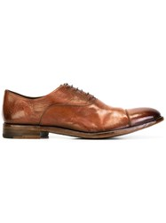Alberto Fasciani Classic Lace Up Shoes Brown