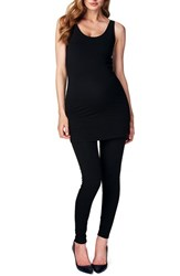 Women's Noppies 'Amsterdam' Scoop Neck Long Maternity Top