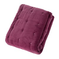 Christy Jaipur Throw 140X180cm Magenta