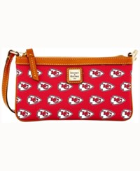 Dooney And Bourke Kansas City Chiefs Large Wristlet Red