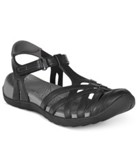 Bare Traps Feena Flat Sandals Women's Shoes Black