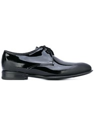 Alexander Mcqueen Scuffed Detail Derbies Men Leather 41.5 Black