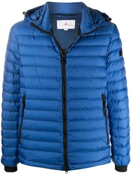 Peuterey Quilted Padded Jacket Blue