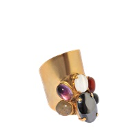 Ela Stone Maiko Ring With Multicolored Gemstones