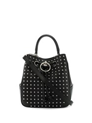 Mulberry Small Studded Hampstead Tote Bag Black