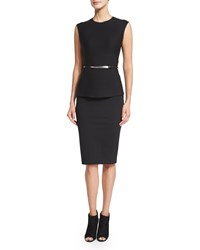 Donna Karan Element Skinny Belt Black