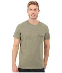 Timberland Essential Slub Pocket T Shirt Cassel Earth Men's T Shirt Green
