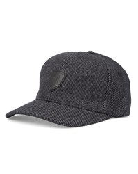 Tommy Hilfiger Grey Damian Wool Badge Cap