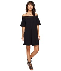 Roxy Moonlight Shadows Cold Shoulder Dress Anthracite Women's Dress Pewter