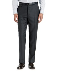 Ted Baker Fox Dalt Wool Regular Fit Suit Trousers Grey