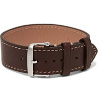 Tom Ford Leather Watch Strap Brown