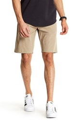 Burnside Dual Function Stretch Short Brown