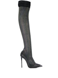 Le Silla Embellished Thigh High Boots 60
