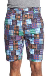 Men's Robert Graham 'Flowrider' Patchwork Print Shorts