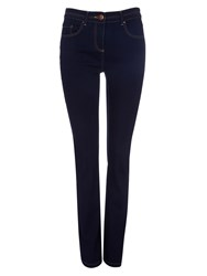 Wallis Blue Straight Leg Jeans