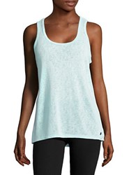 Calvin Klein Open Back Stretch Tank Top Mint