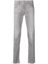 Citizens Of Humanity Stonewashed Slim Fit Jeans Grey