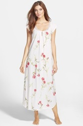 Carole Hochman 'Forever Carnation' Long Nightgown Pink