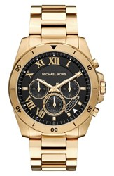 Michael Michael Kors Women's 'Brecken' Chronograph Silicone Strap Watch 44Mm