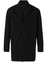 Stephan Schneider Single Breasted Coat Men Cotton M Black