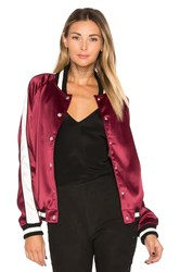 Lovers Friends X Revolve The Nomad Bomber Burgundy