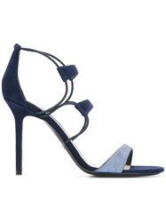 Christian Dior Strappy Sandals Blue