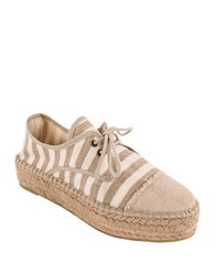 Andre Assous Charlie Espadrille Sneakers Ivory
