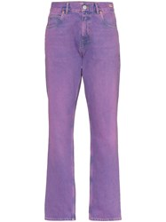 Martine Rose Mid Rise Straight Leg Jeans 60