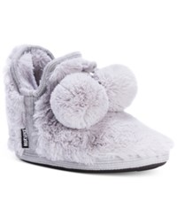 Muk Luks Women's Amira Faux Fur Boot Slippers Light Purple