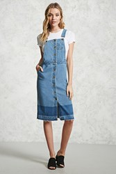 Forever 21 Denim Overall Dress